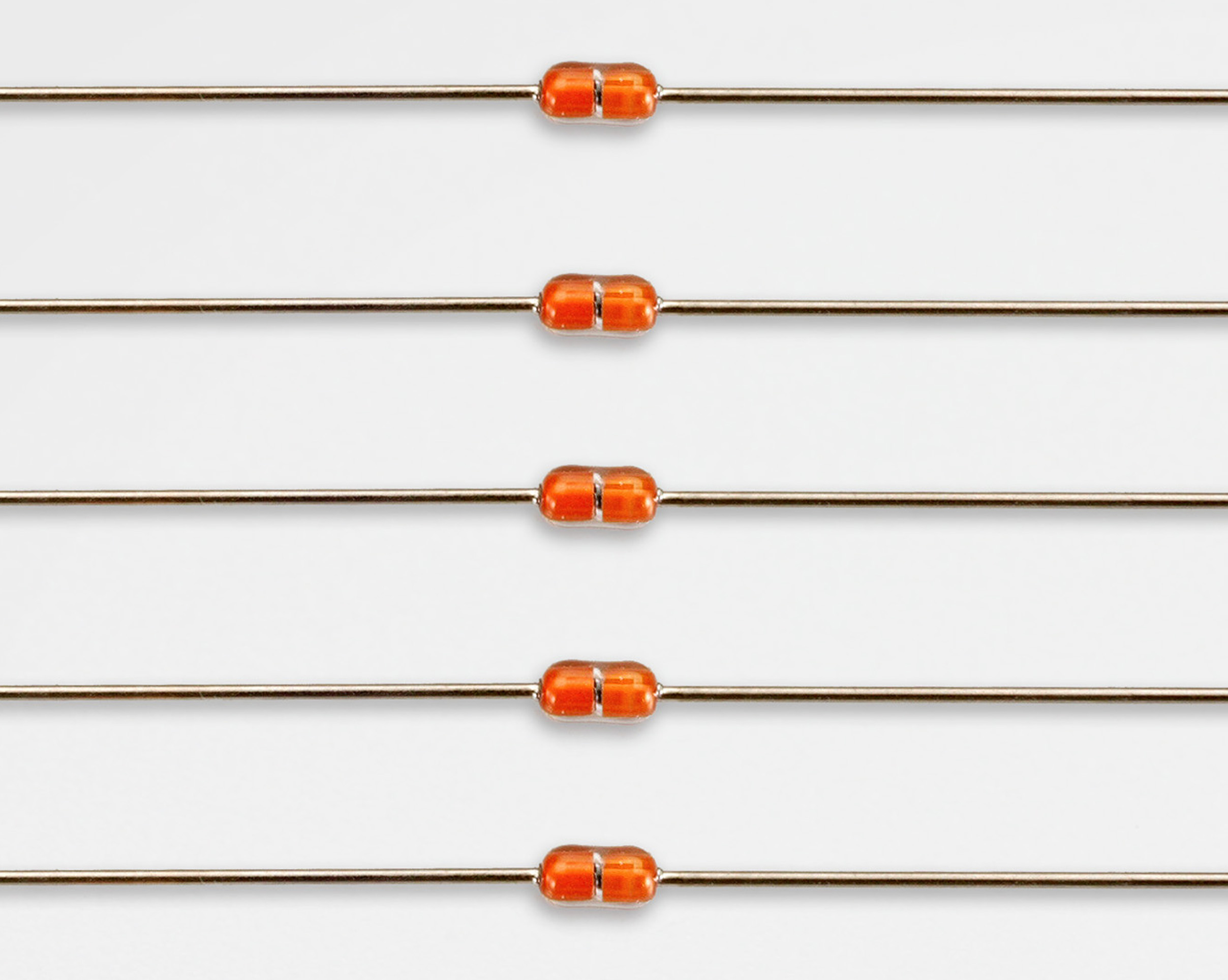 Tayao Technology Co Ltd Thermistor Circuit Gd002 Sn Plated Cp Wire Temperature Sensor Glass Axial Ntc